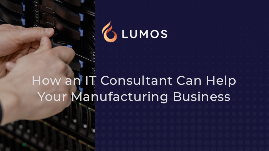 it consultant for manufacturing